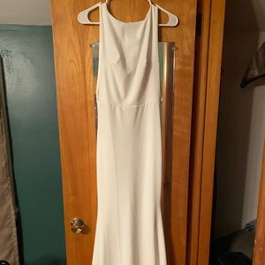 NWT MissGuided Sleeveless Low Back Maxi Dress